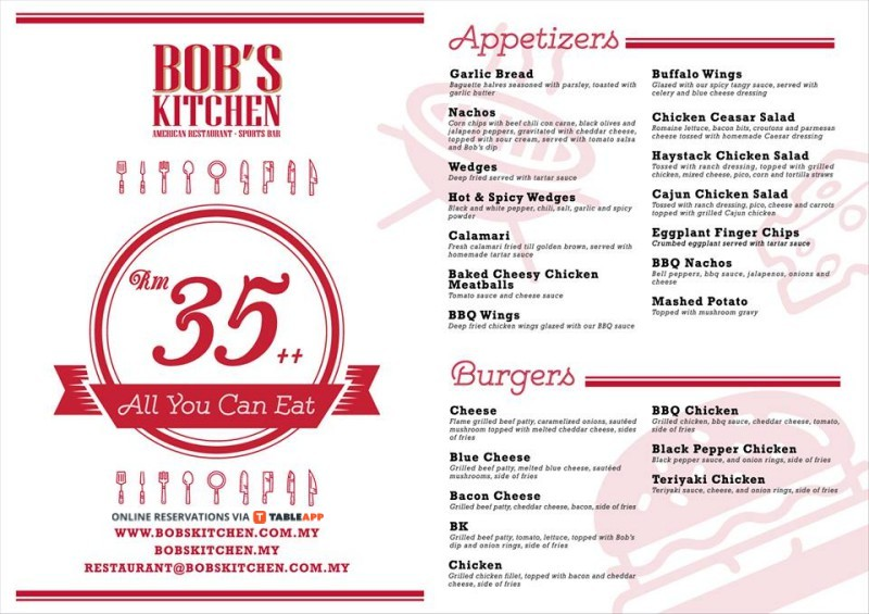 bob's kitchen - western, danga utama commercial center, johor